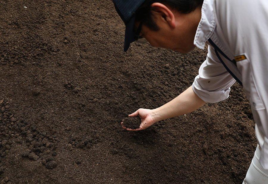 木村牧場の堆肥